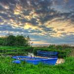 """Rowing Boats at Day,s End"" by irishphotographer"