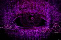 Eye See Over Mountains (Purple)