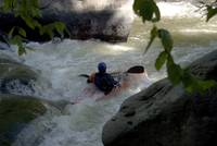 Kayaking Slippery Rock Creek