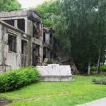 """Westerplatte Barrack Monument"" by AnthroArt"