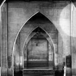 """UNDER THE BRIDGE BW"" by wbsloan"