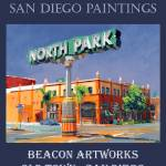 """Beacon Artworks North Park Sign San Diego Poster"" by RDRiccoboni"