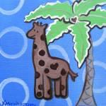 """George the Giraffe"" by KAbrahamson"