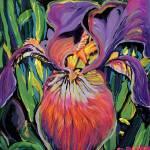 """Purple Iris by RD Riccoboni"" by BeaconArtWorksCorporation"