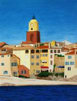 Beach at La Ponche, St Tropez