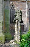 Ancient Church Tower Pinnacle, Derby (18153-RDA)