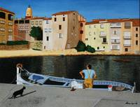Fisherman at La Ponche, St Tropez