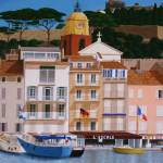 """St Tropez port"" by CarrieWaters"