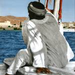 """Sailor on the Nile 01"" by CarrieWaters"
