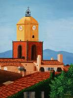 St Tropez Clock Tower