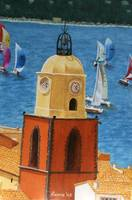 St Tropez Clock Tower no. 3