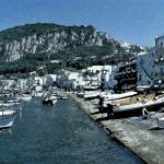 """Boat Landing in Capri"" by DonnaCorless"