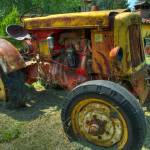 """Rusty aged tractor"" by tranq72"