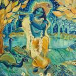 """""""My Krishna Is Blue"""" by ArtSamadhi"""