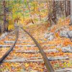 """Shennandoa RR Tracks"" by JeanMoore"