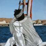 """Sailor on a felucca"" by CarrieWaters"