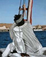 Sailor on a felucca
