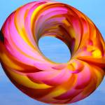 """flowered inner tube"" by Redglasses"