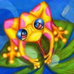 """""""Froggie Frolic"""" by AlmaLee"""
