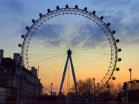 London Eye Majestic Sky