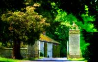 The gates at Woodleigh