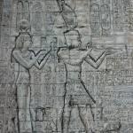 """Cleopatra and Caesarion"" by Leenasart"