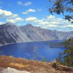 """Clouds over Crater Lake 1979"" by PriscillaTurner"