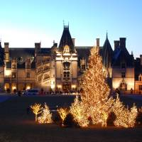 Biltmore Estate Christmas Art Prints & Posters by Michael Crider