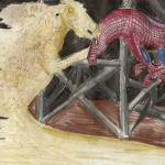 """""""Spider Horse vs. Sand Horse"""" by RAW92"""