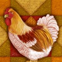 Rooster Quilt I