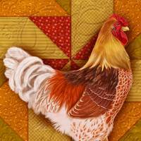 Rooster Quilt II
