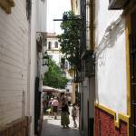 """An Alley View In Seville, Spain"" by DanRumeltPhotoArt"