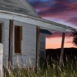 """""""Abandoned Homestead at Sunset"""" by timleonhardt"""