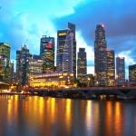 """""""Singapore"""" by BlaineArtworks"""
