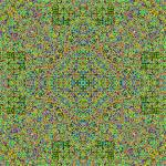 """Cellular Automata Mandala 3"" by Rafa"