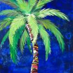 """Cobalt Blue Palm II"" by KAbrahamson"