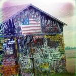 """Graffiti Barn"" by angelandspot"