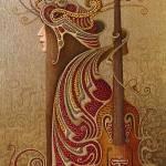 """Violina"" by indrikov"