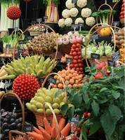 Vegetable display 2