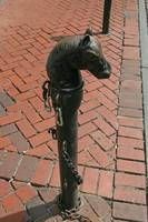 New Orleans hitching post