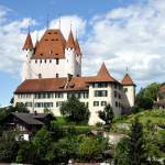 """The Castle of Thun, Switzerland"" by baechlergallery"