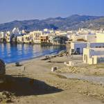 """Harbour, Mykonos, Greece, 1960"" by PriscillaTurner"