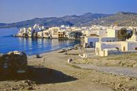Harbour, Mykonos, Greece, 1960