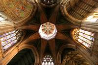 Medieval Cathedral Ceiling