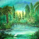 """Egret Swamp"" by Blarney333"