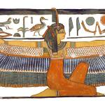 """Maat with Outstretched Wings"" by MoralesCorrea"