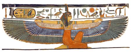 Maat with Outstretched Wings
