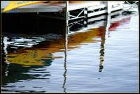 reflections at the dock.....