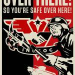 """INGSOC 1984 Over There"" by libertymaniacs"