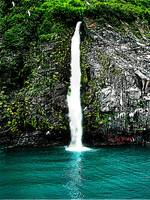 Alaskan Waterfall - Prince William Sound